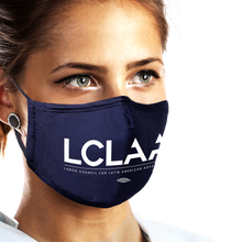Load image into Gallery viewer, USA Made and Union Printed Face Mask (Available in Black or Navy)