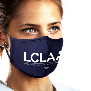 USA Made and Union Printed Face Mask (Available in Black or Navy)