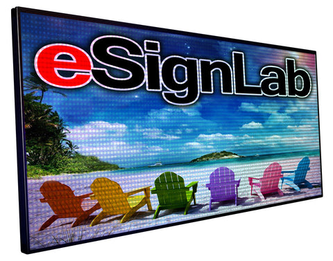 FX20 Series; Full Color 20mm Pitch Programmable LED Sign