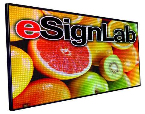 FX15 Series; Full Color 15mm Pitch Programmable LED Sign