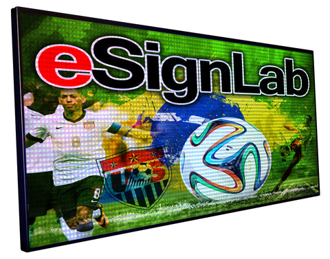 FX25 Series; Full Color 25mm Pitch Programmable LED Sign