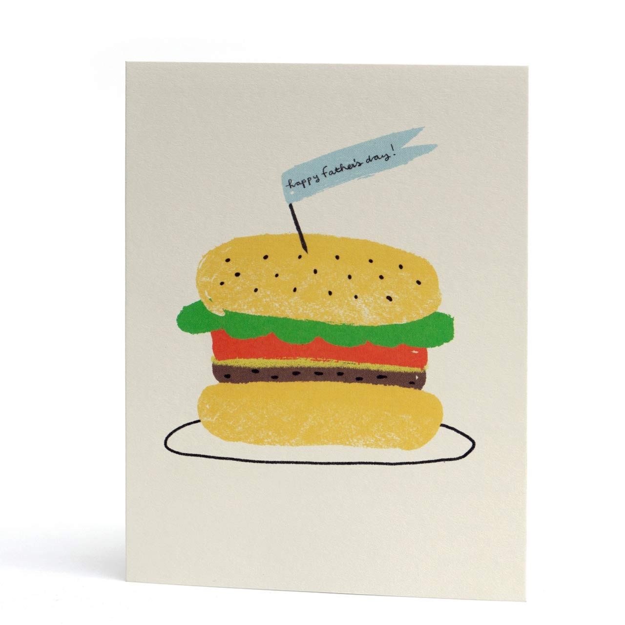 Burger for Dad Father's Day Card