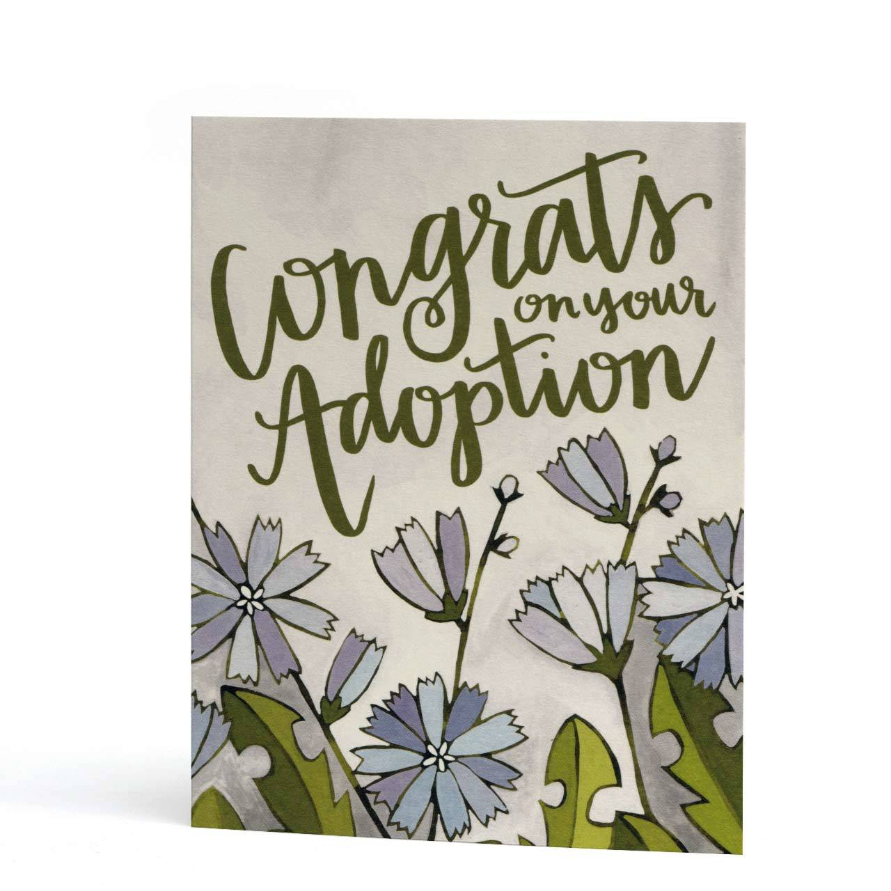 Congrats on Your Adoption Greeting Card