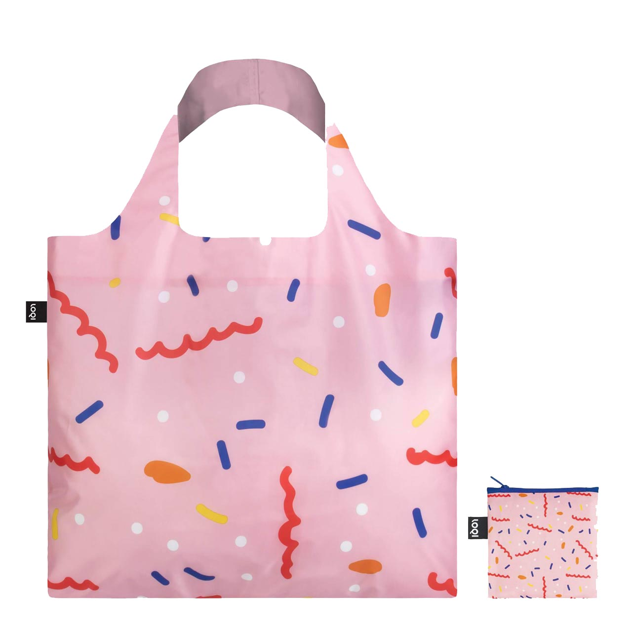Celeste Wallaert Confetti Bag and zip purse.