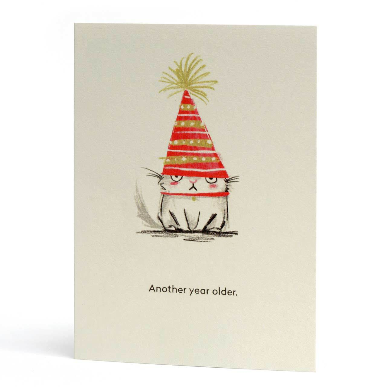 Another Year Older Greeting Card