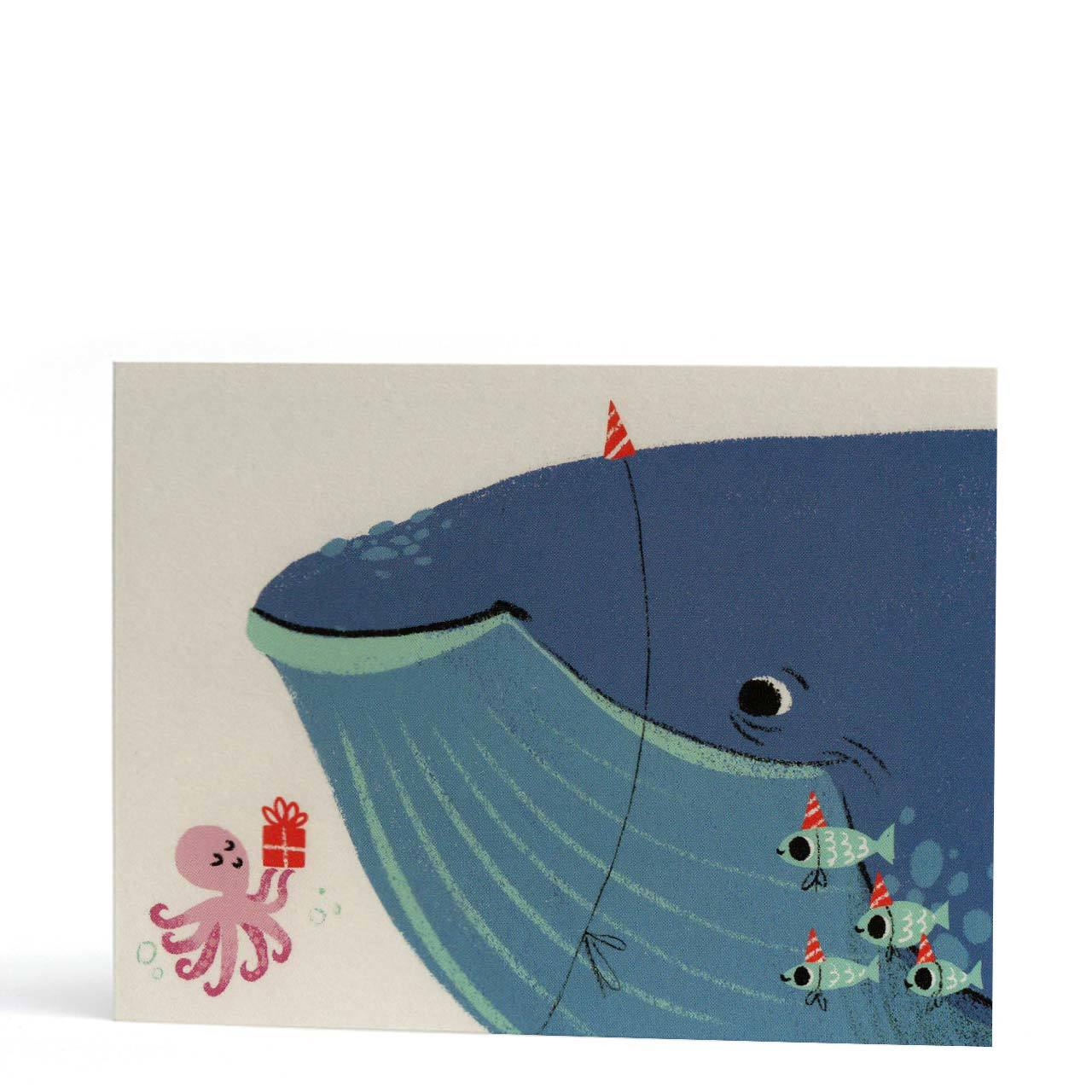 Whale of a Time Birthday Greeting Card