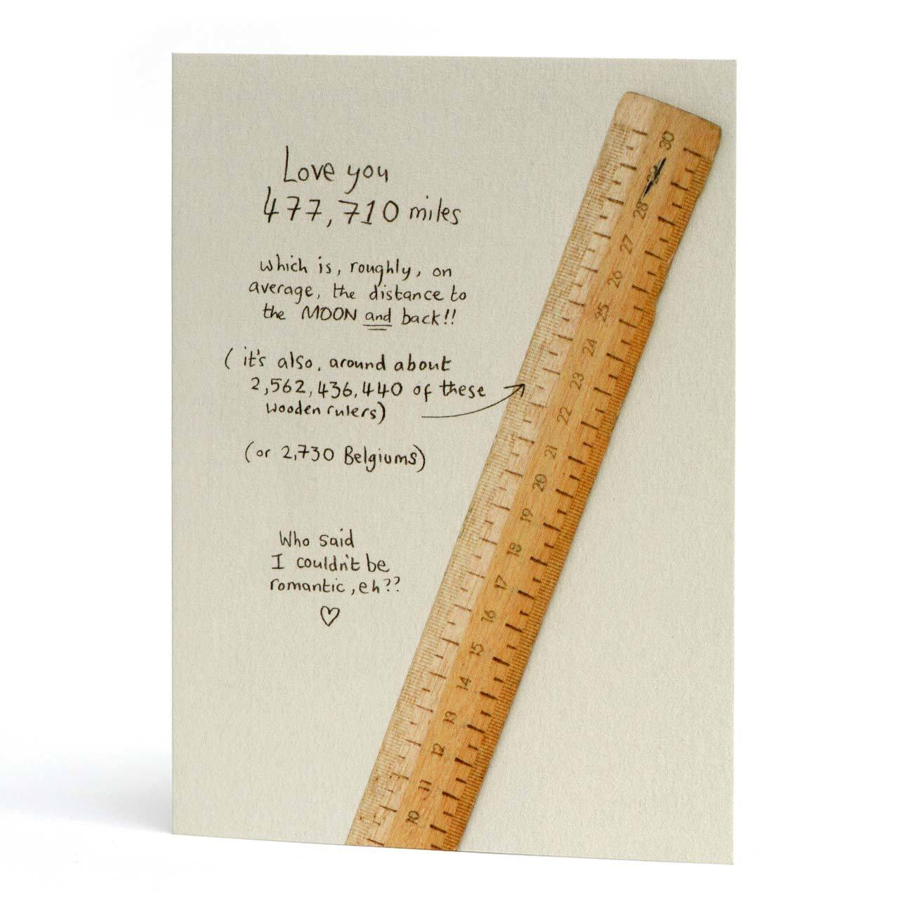 477,710 Miles Greeting Card