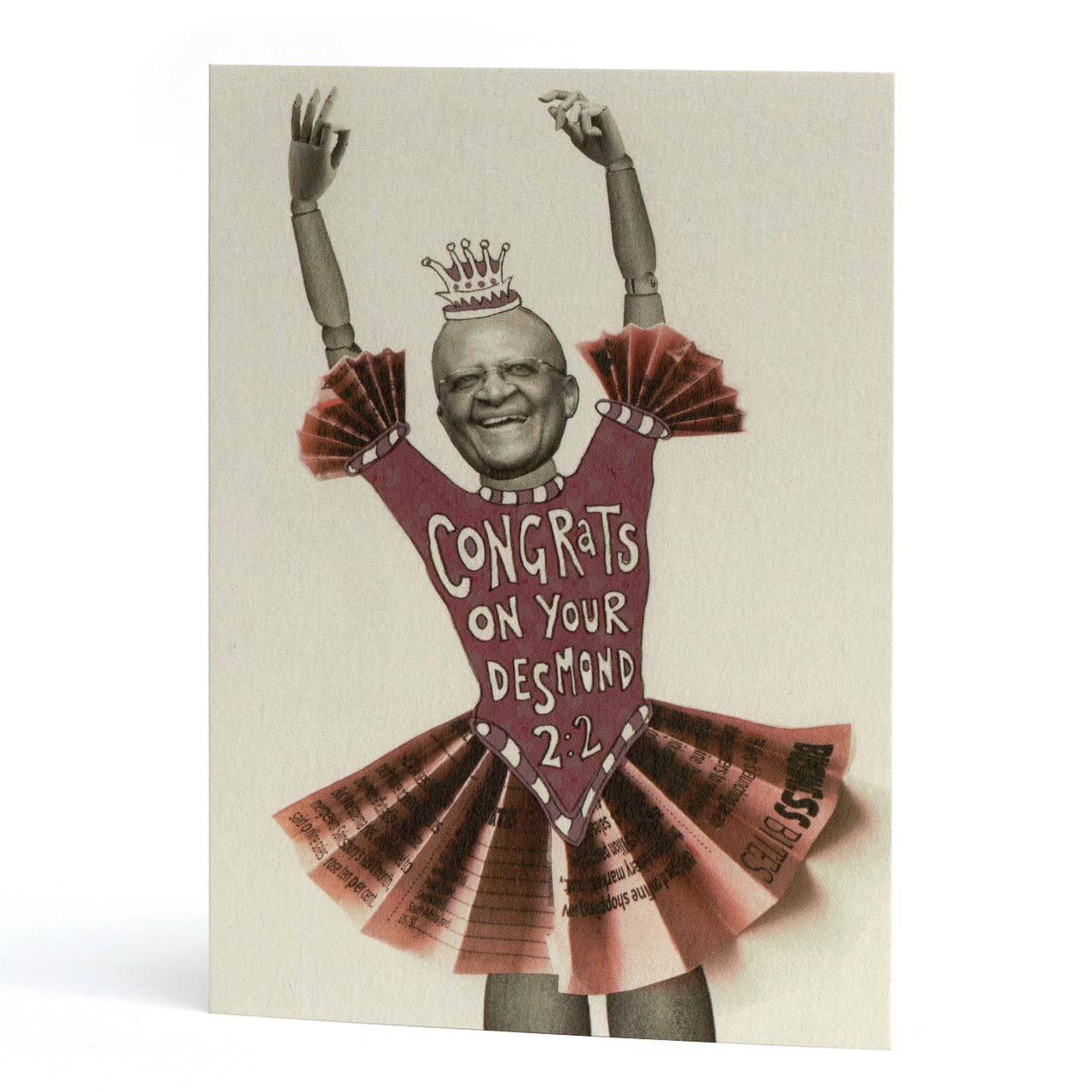 Congrats on Your Desmond 2:2 Greeting Card