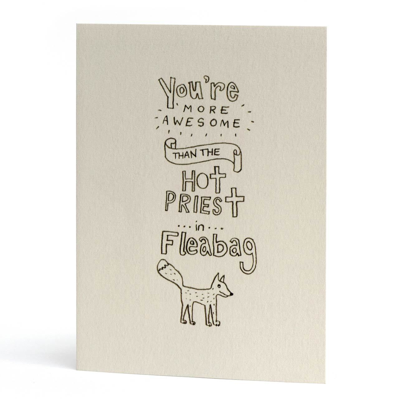 Fleabag Awesome Greeting Card