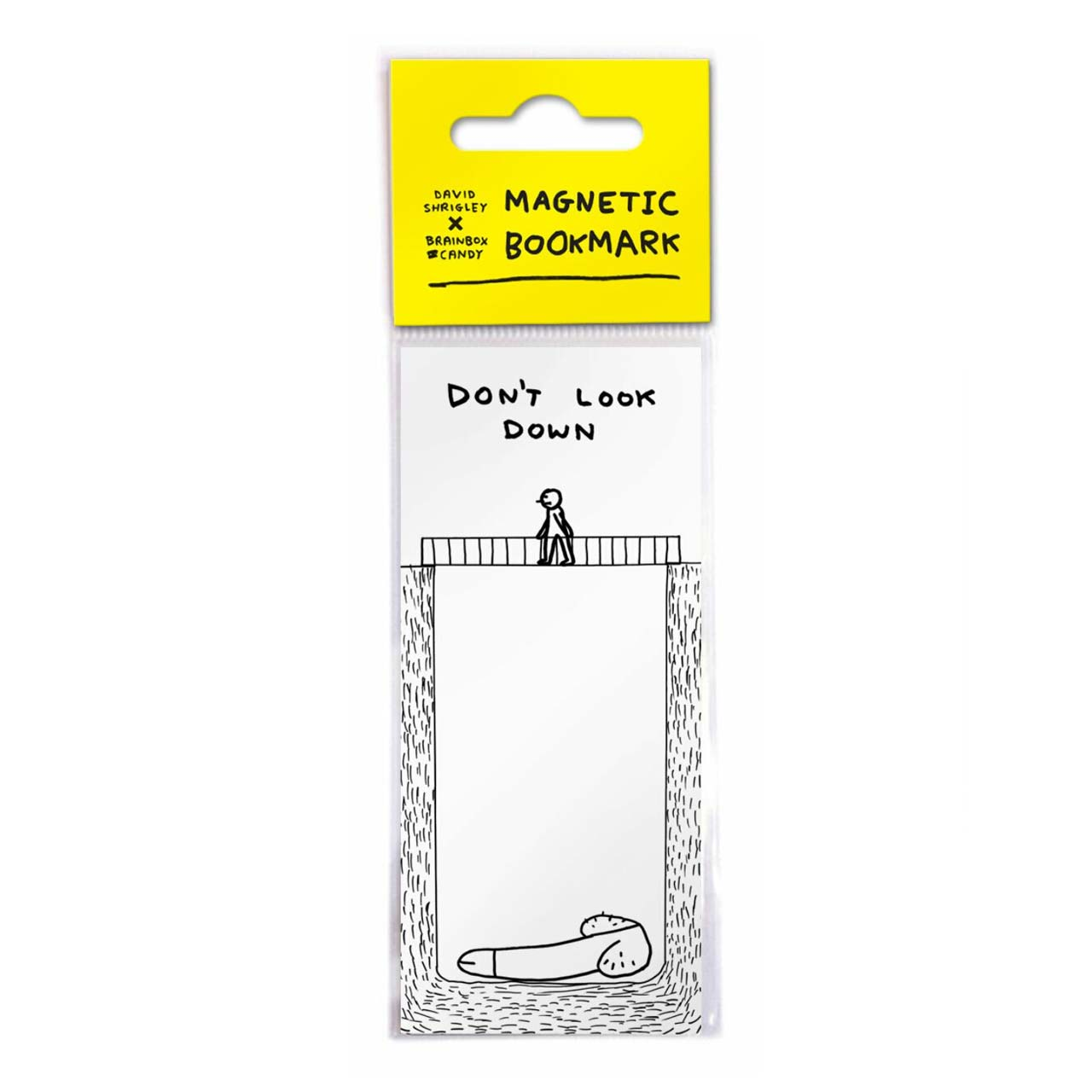 Don't Look Down Magnetic Bookmark