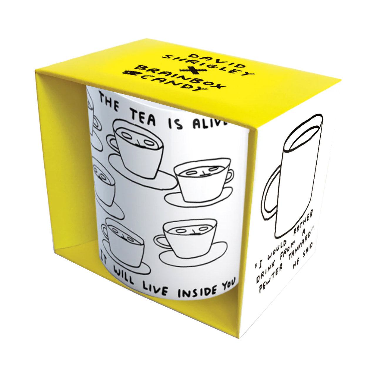 The Tea is Alive Boxed Mug