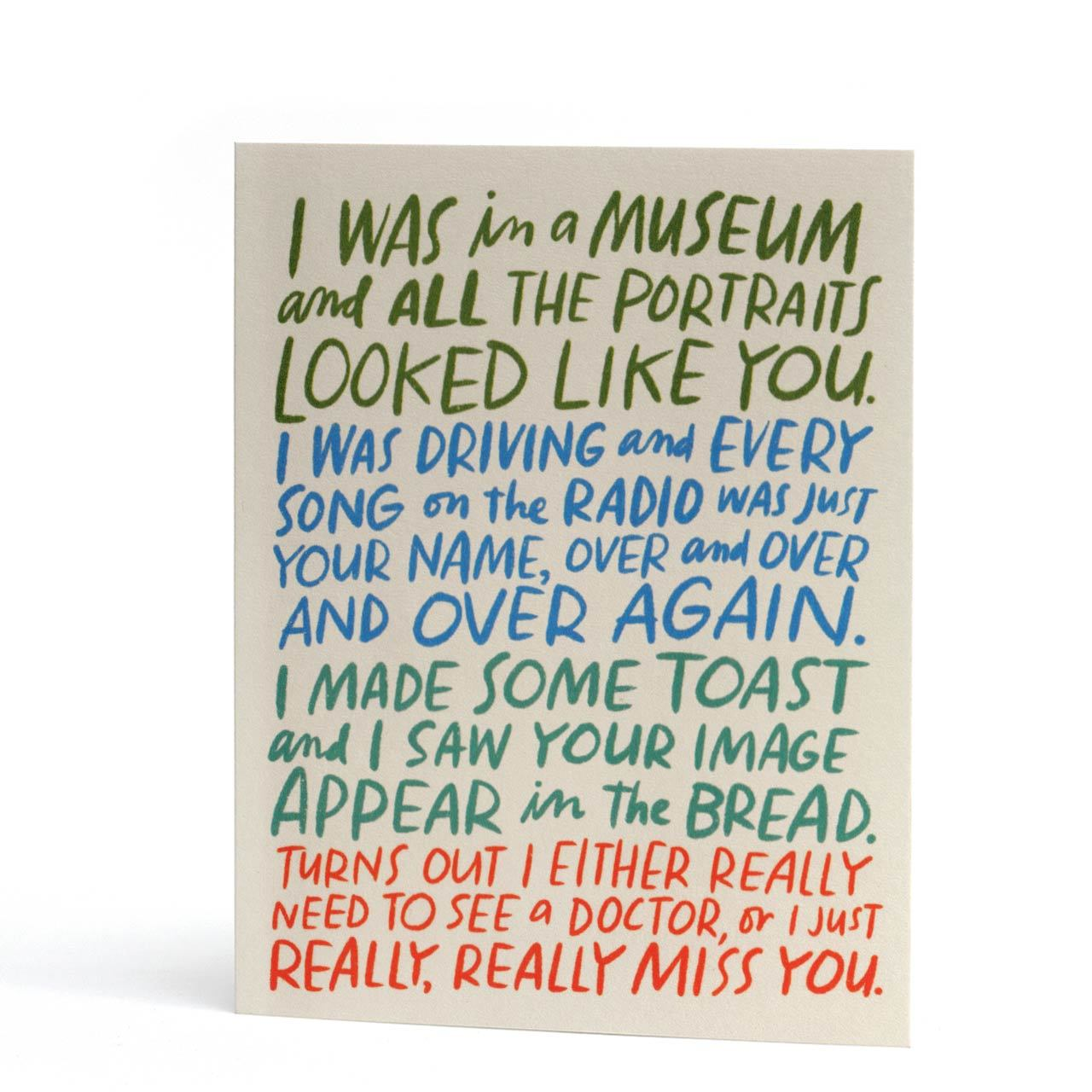 Really, Really Miss You Greeting Card