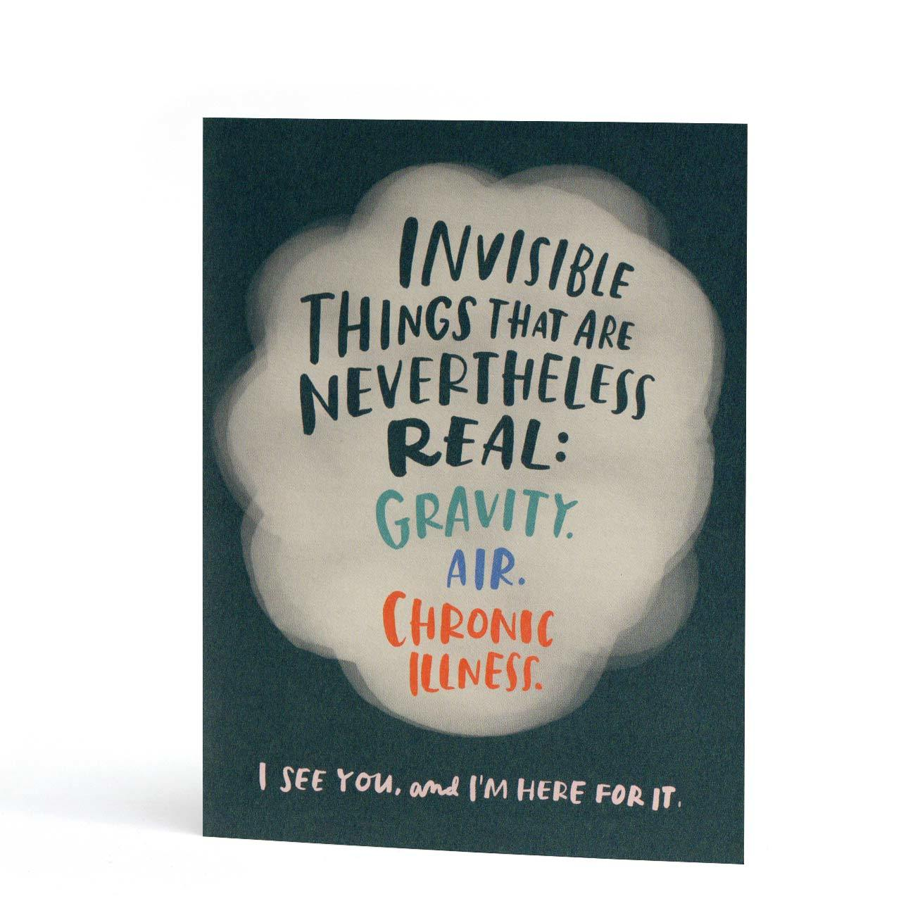 Invisible Illness Greeting Card
