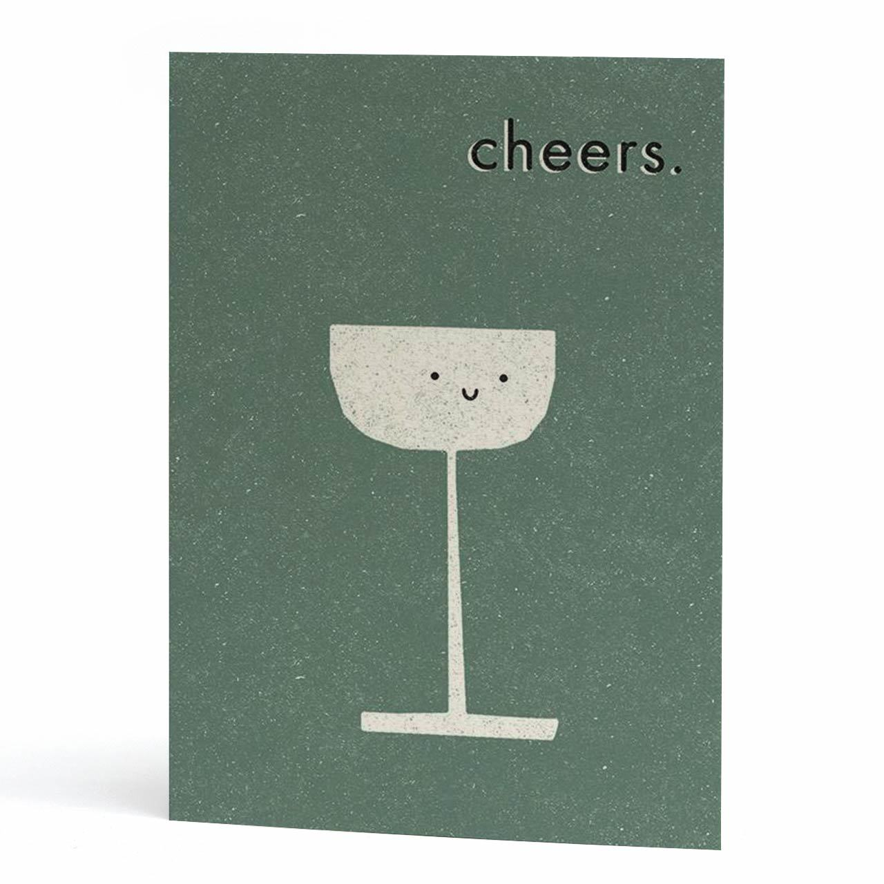 Cheers Congrats Cocktail Card