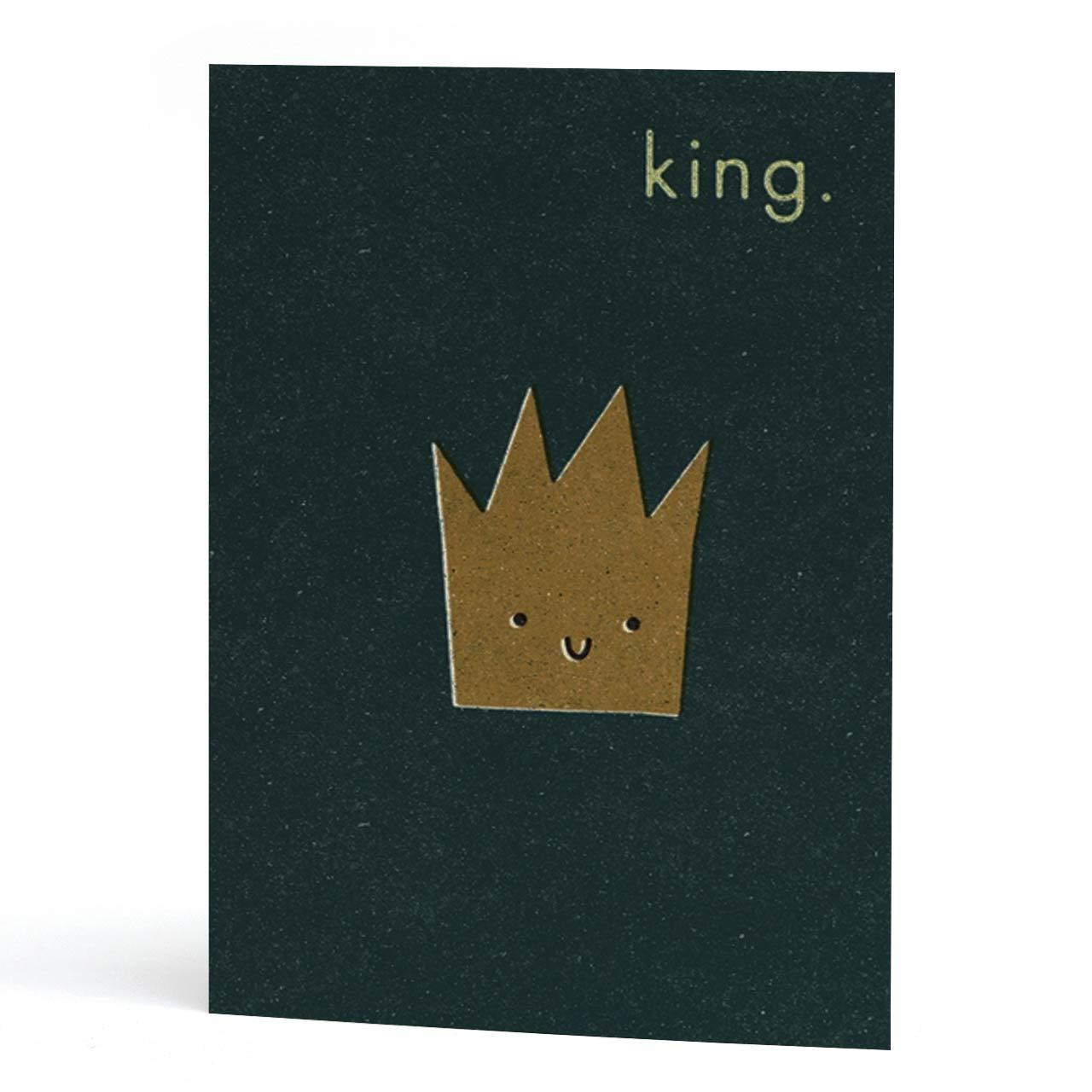King Greeting Card
