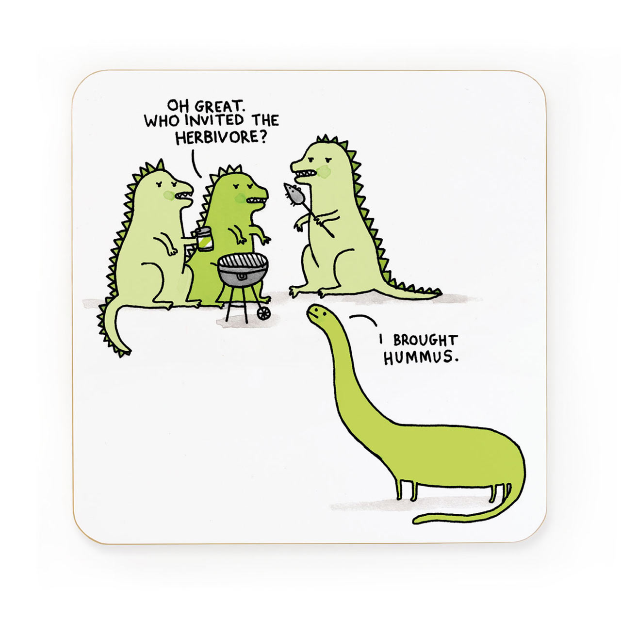 Who Invited the Herbivore Coaster
