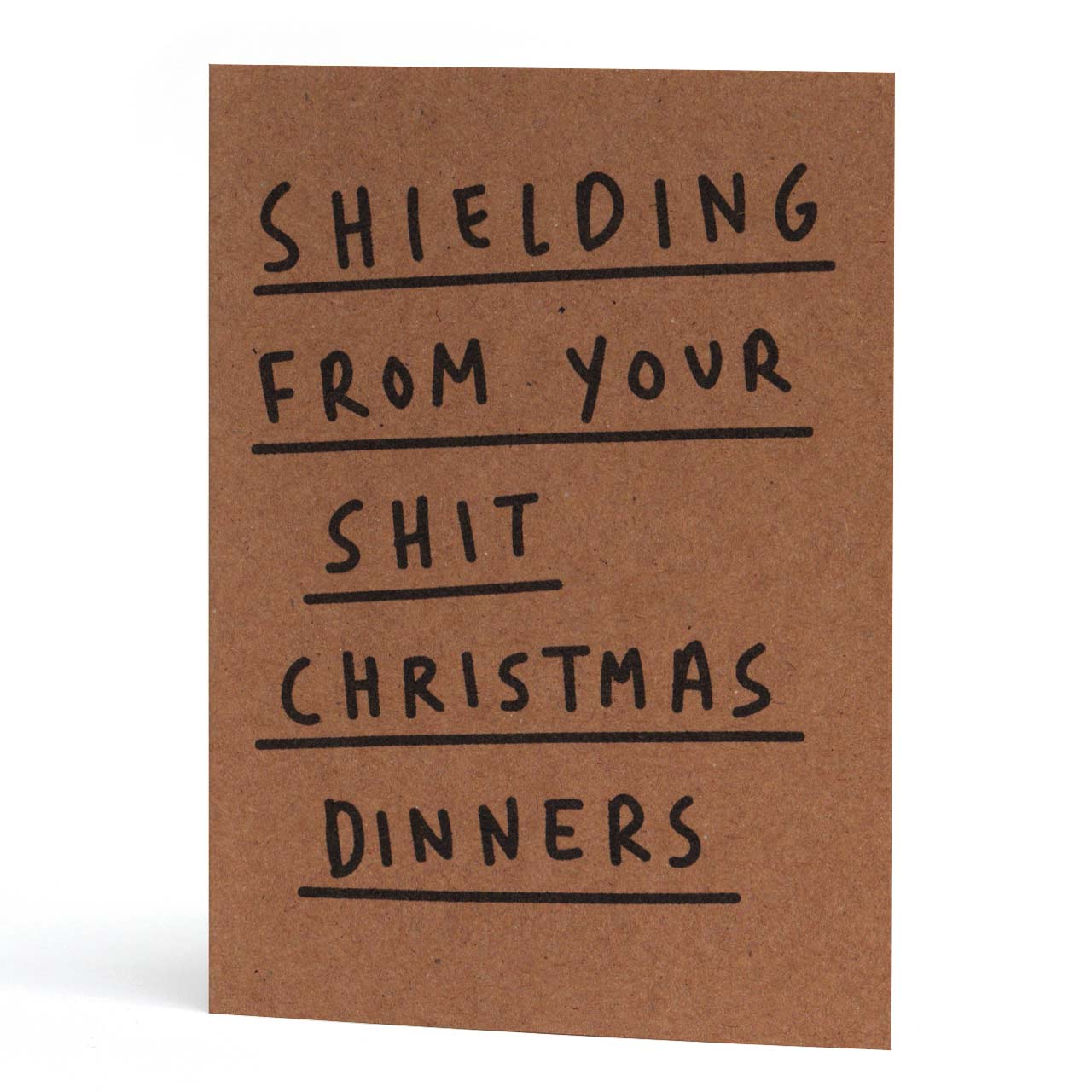 Shielding Christmas Card
