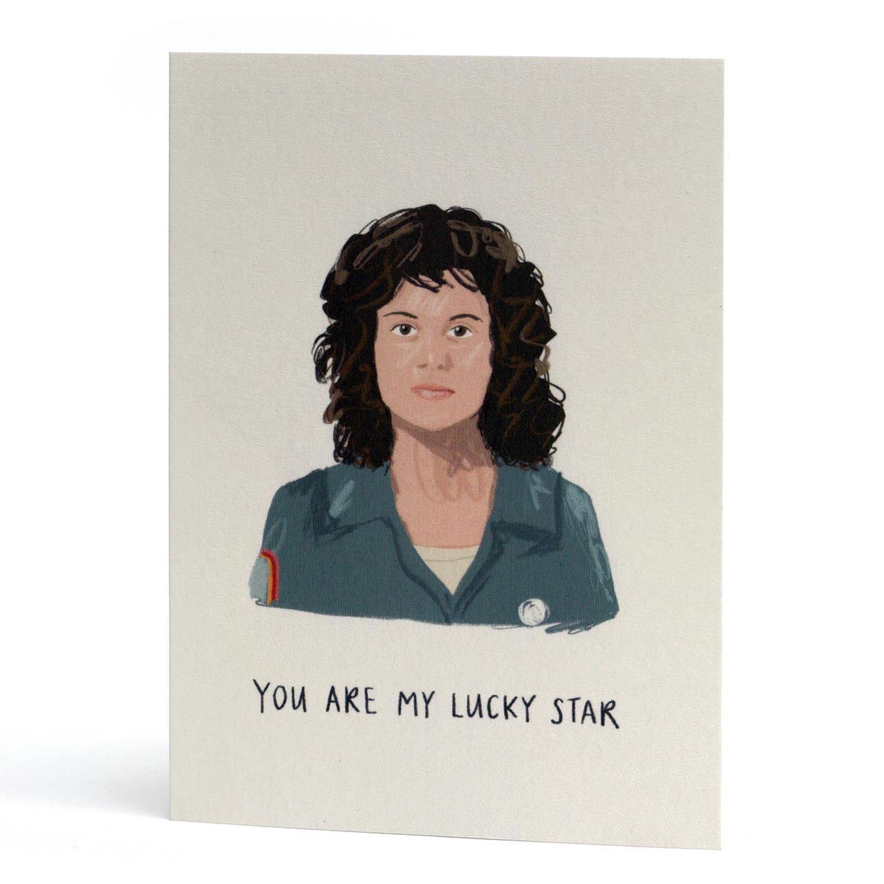 Ripley Lucky Star Greeting Card
