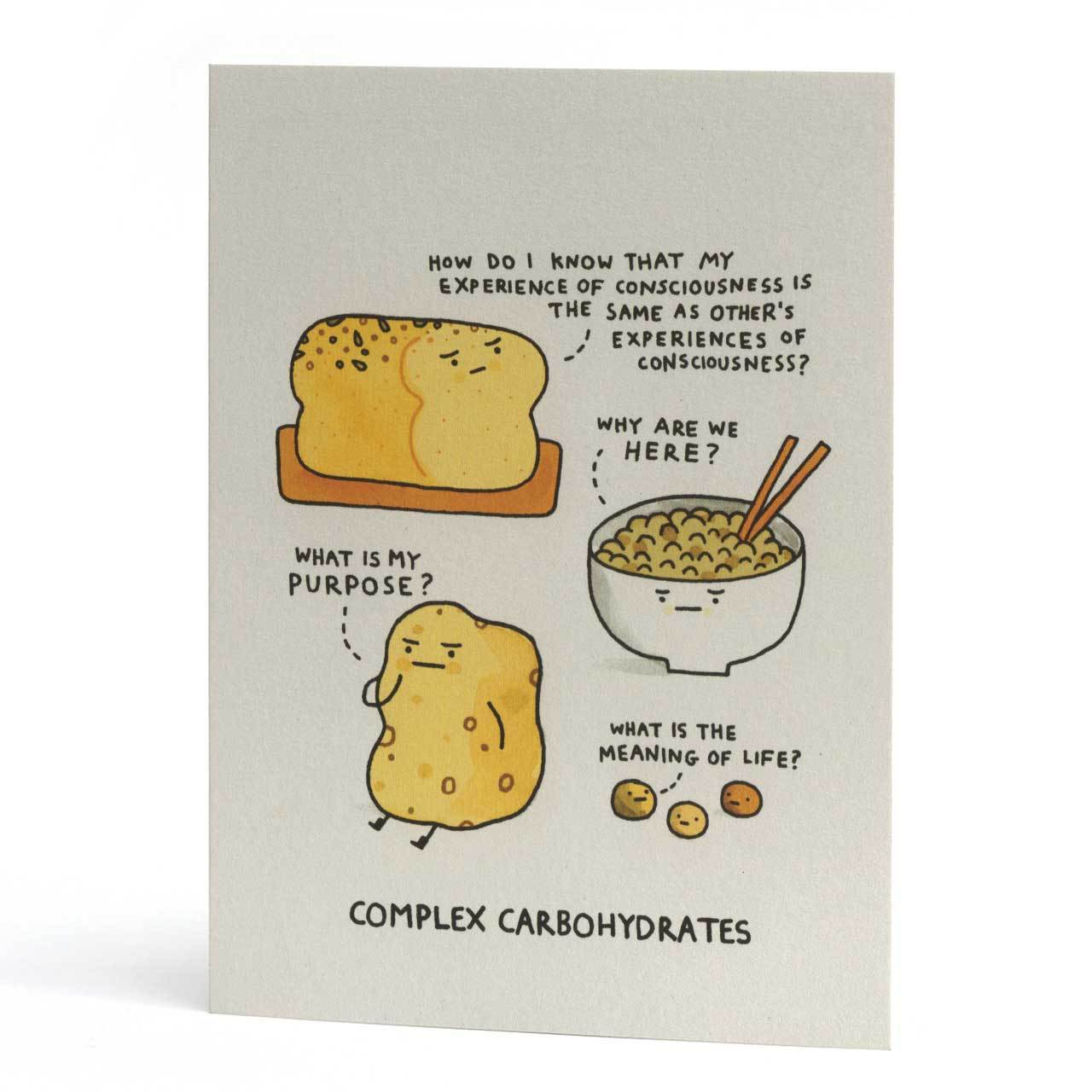 Complex Carbohydrates Greeting Card