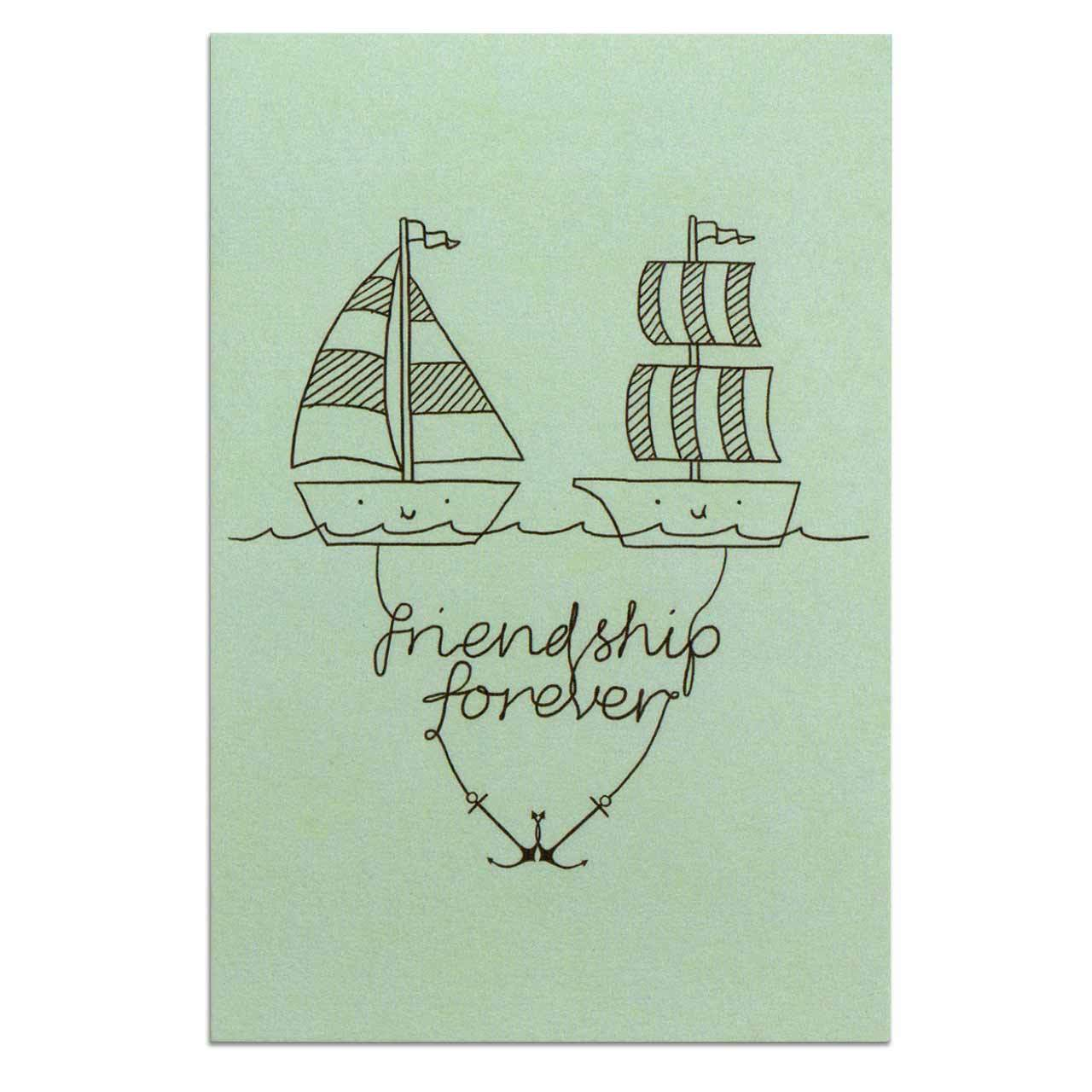 Friendship Forever Postcard
