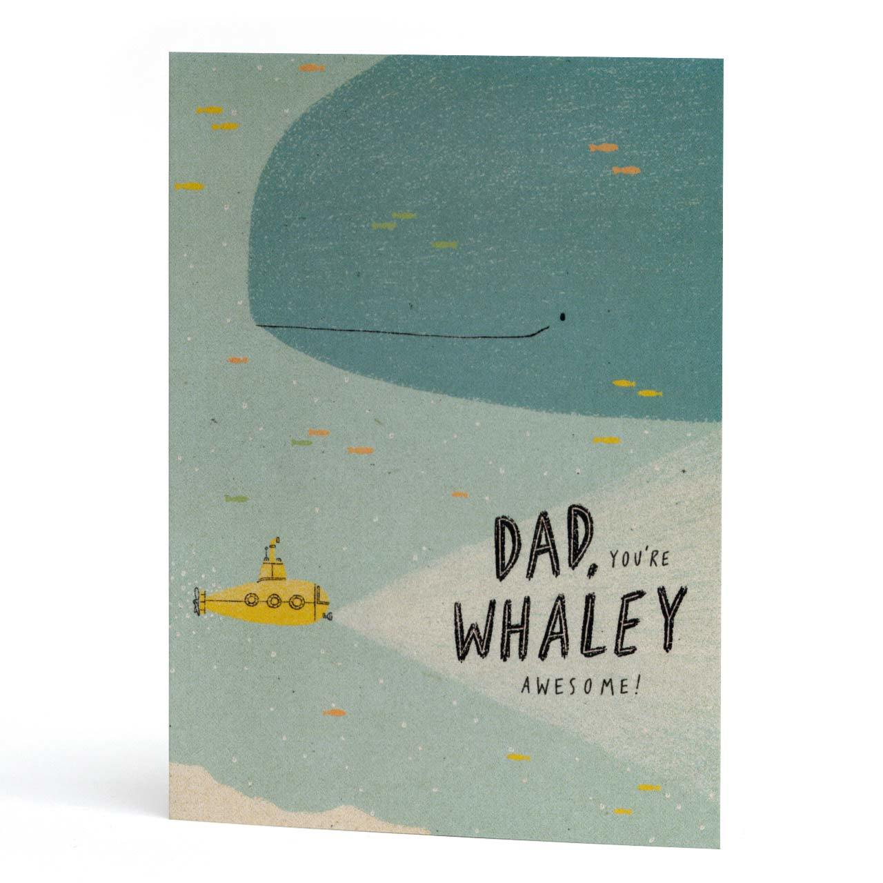 Whaley Awesome Dad Greeting Card