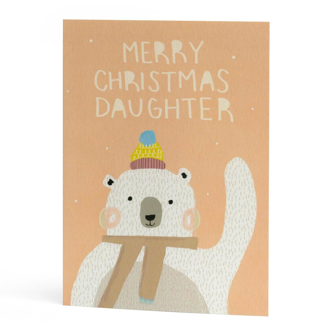 Merry Christmas Daughter Greeting Card