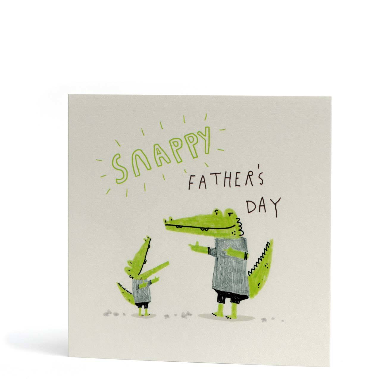 Snappy Father's Day Greeting Card