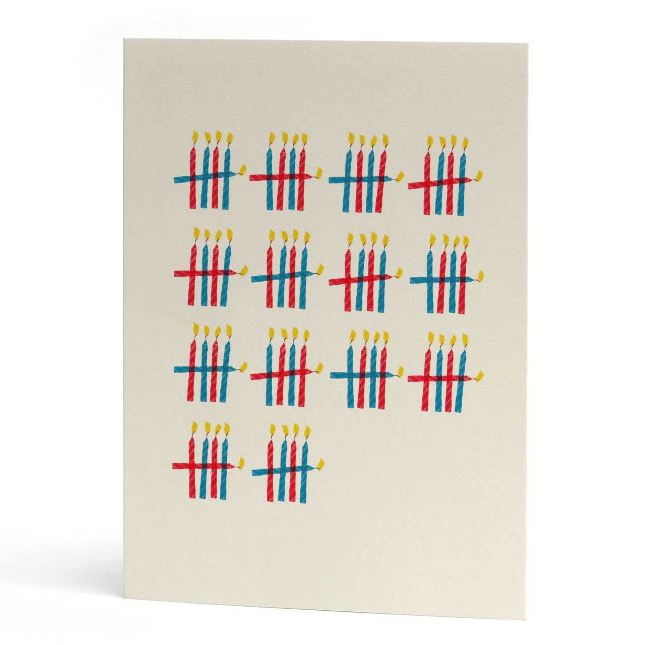 70 Who's Counting Birthday Card