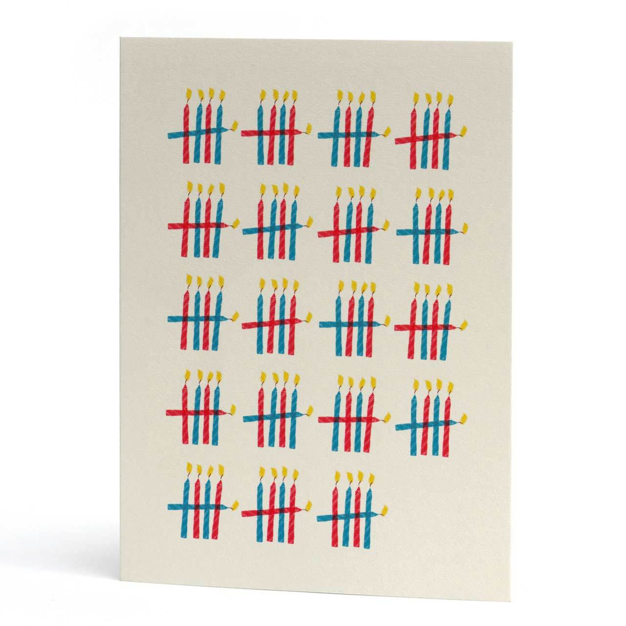 95 Who's Counting Birthday Card
