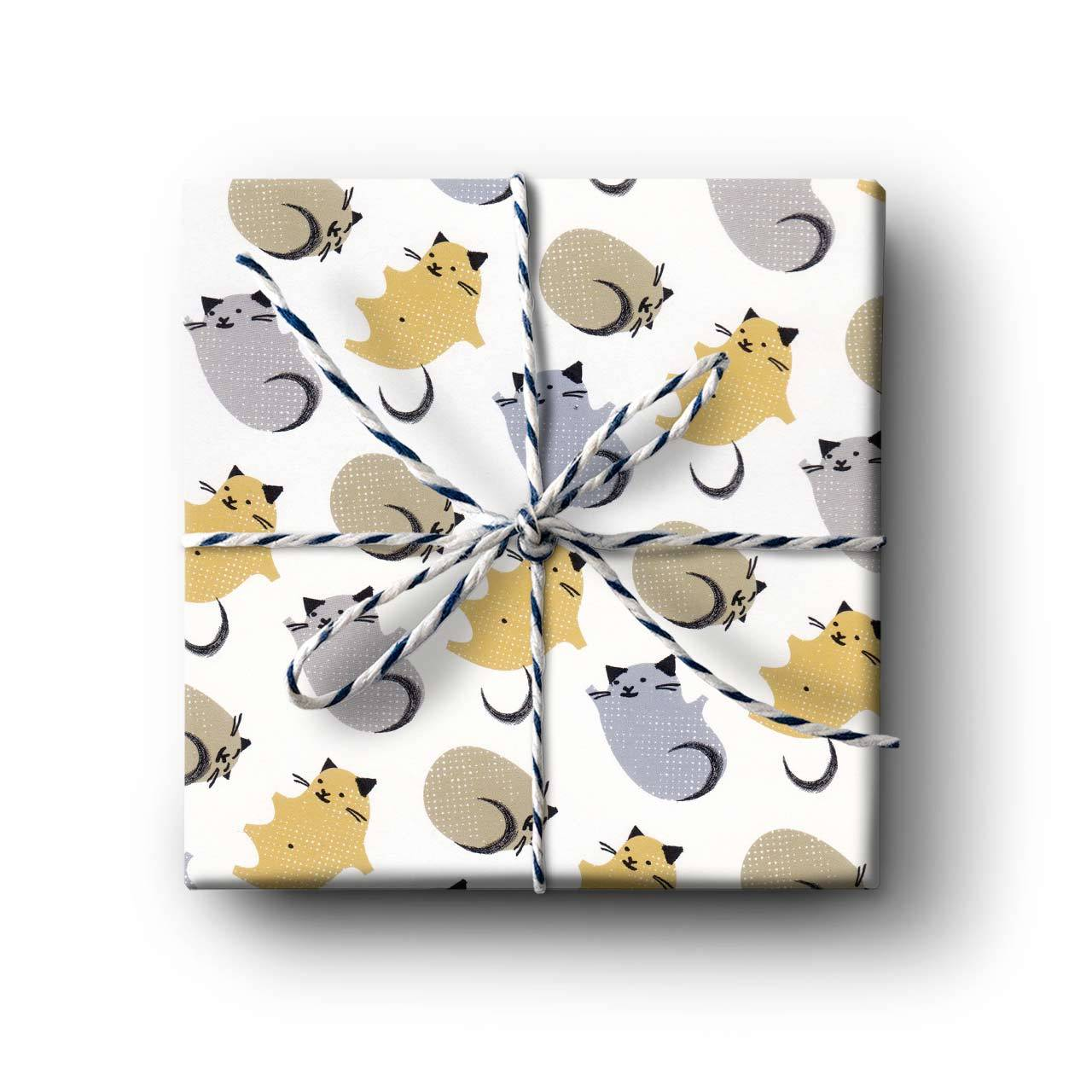 Baby Kitten Gift Wrapping Paper - Folded Single Sheet