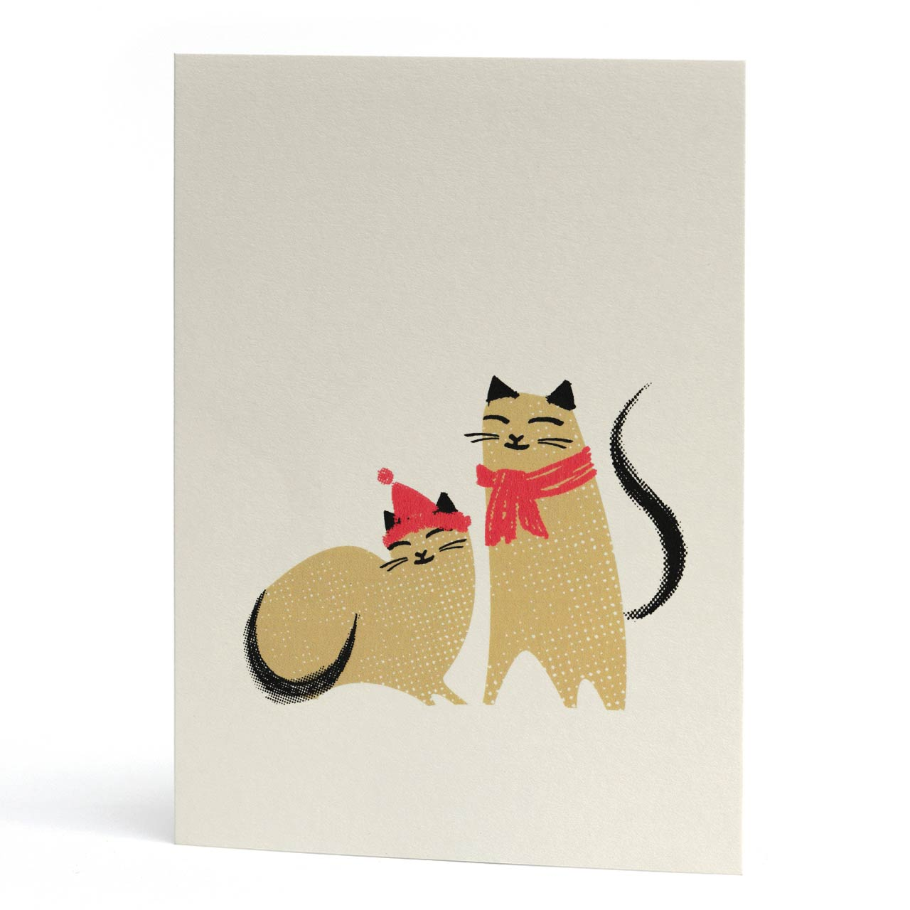Mr And Mrs Claws Christmas Card