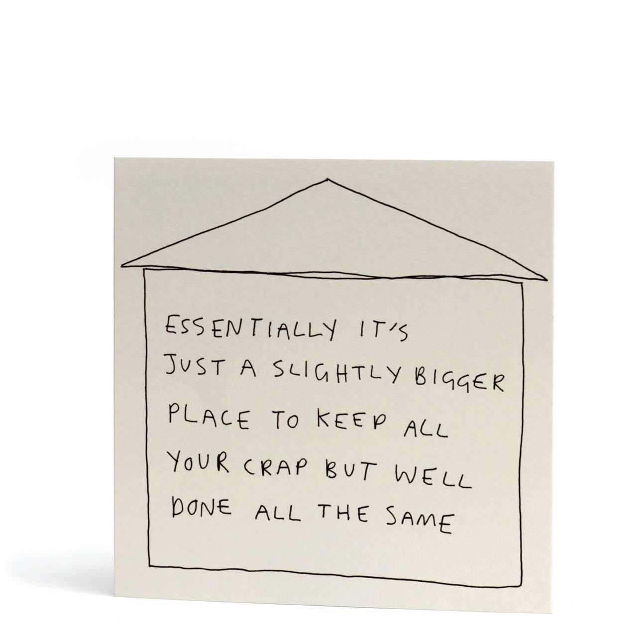 Bigger Place Greeting Card