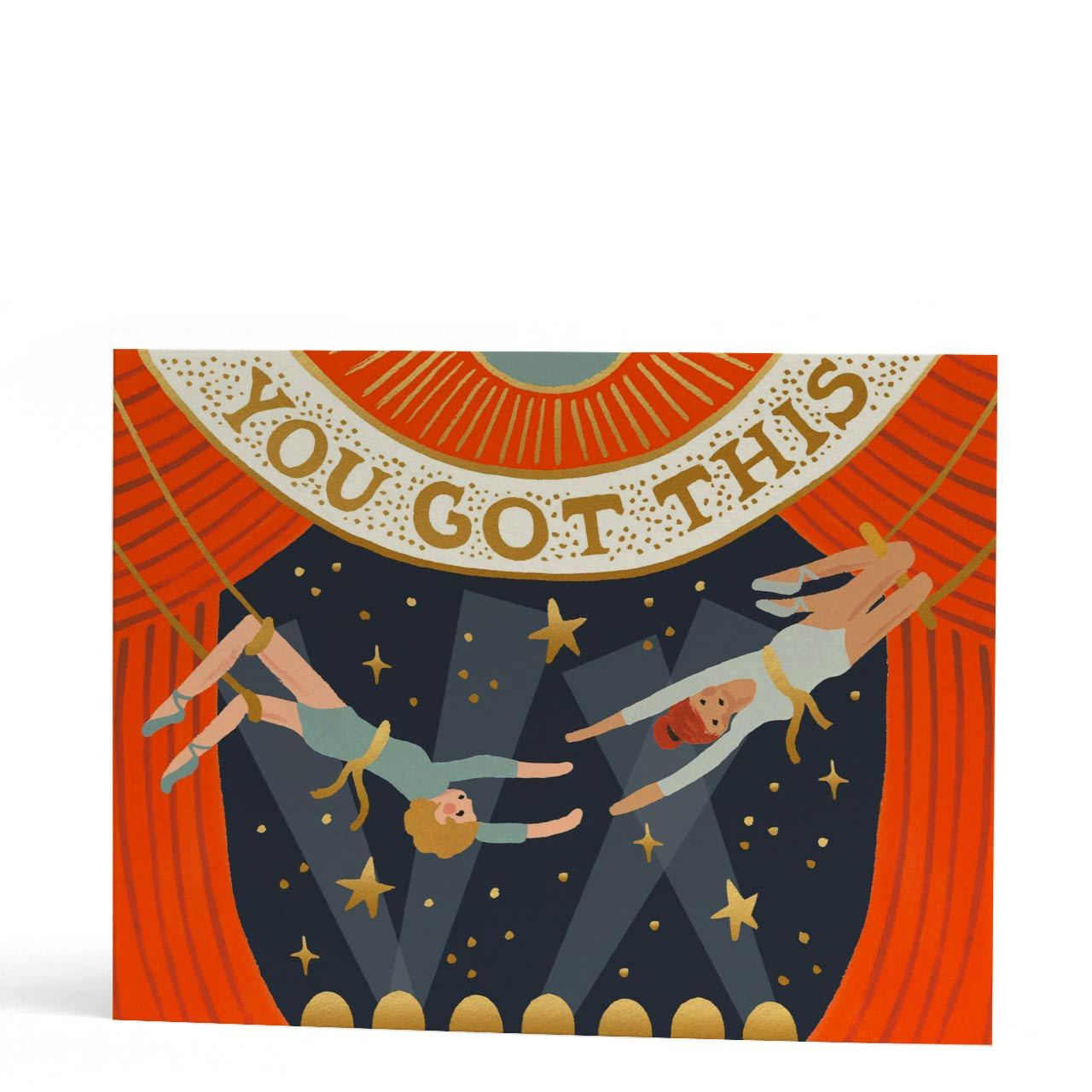 You Got This Gold Foil Greeting Card