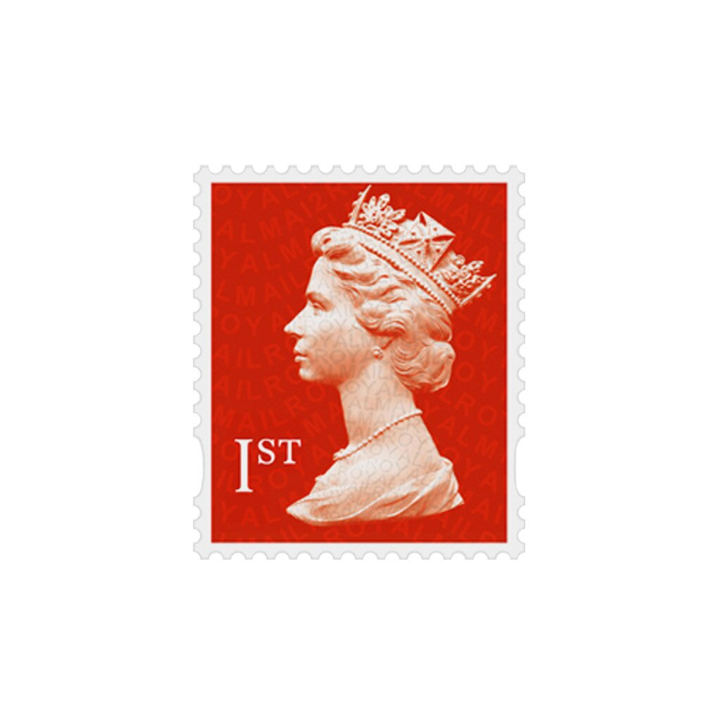 1st Class Stamp - Book of Six