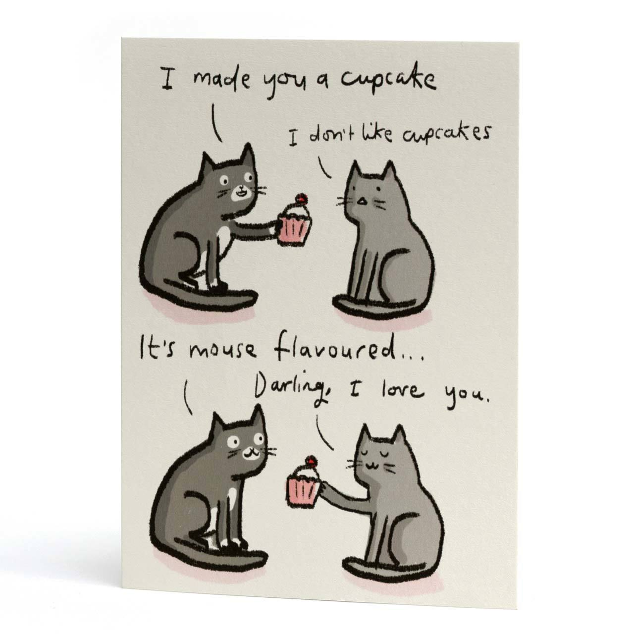 Darling I Love You Greeting Card