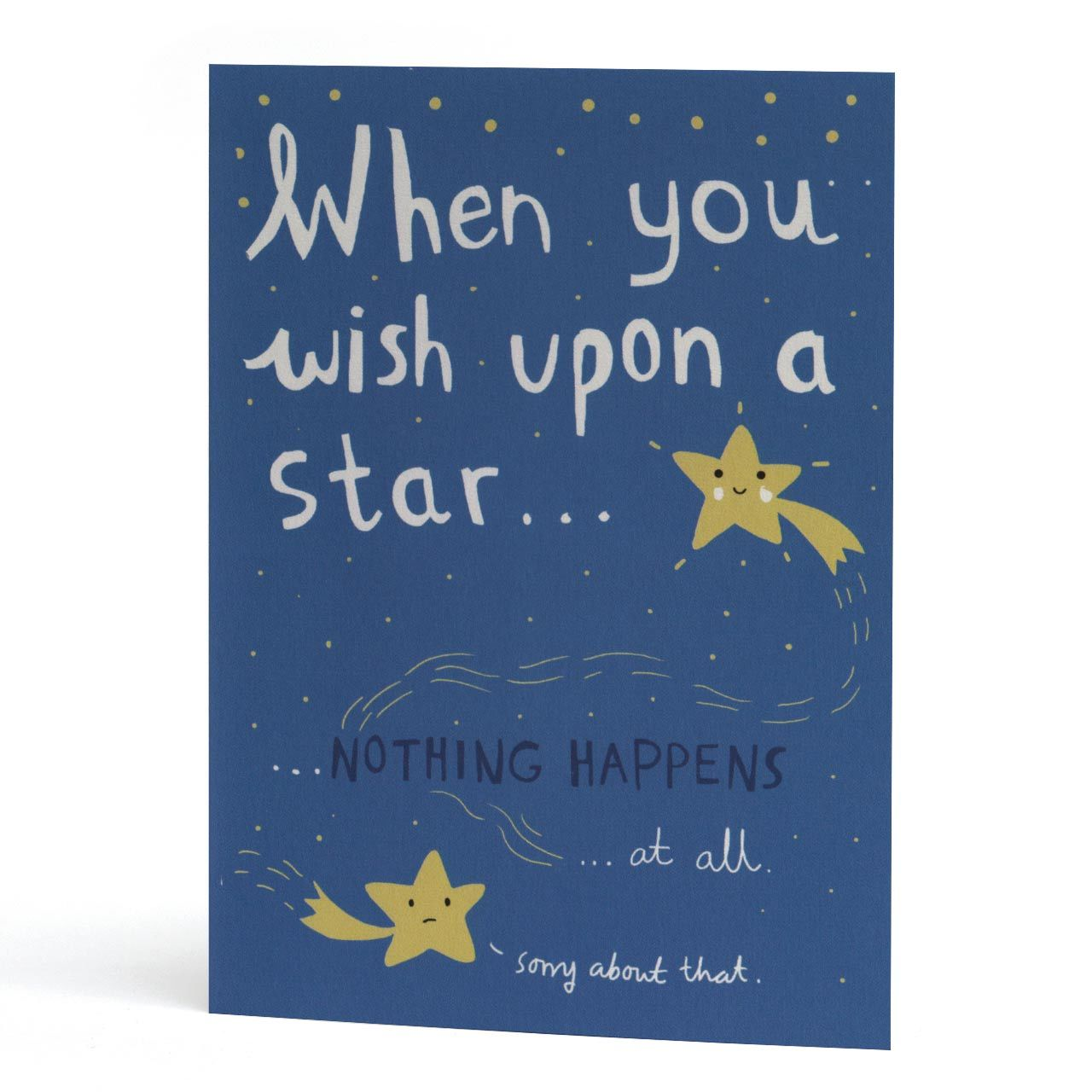 When You Wish Upon A Star Greeting Card