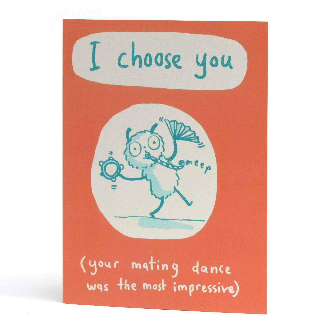 I Choose You Greeting Card