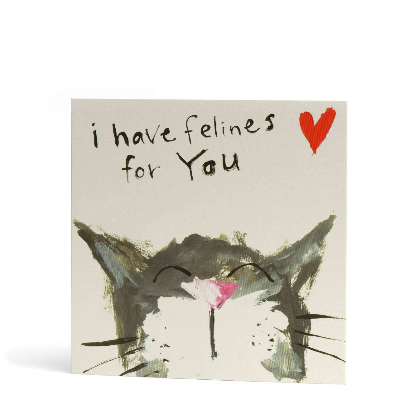Felines for You Greeting Card