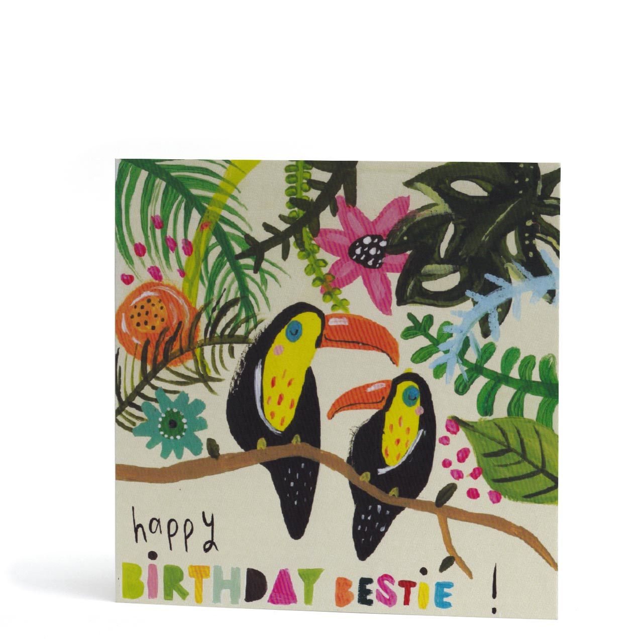 Happy Birthday Bestie Greeting Card