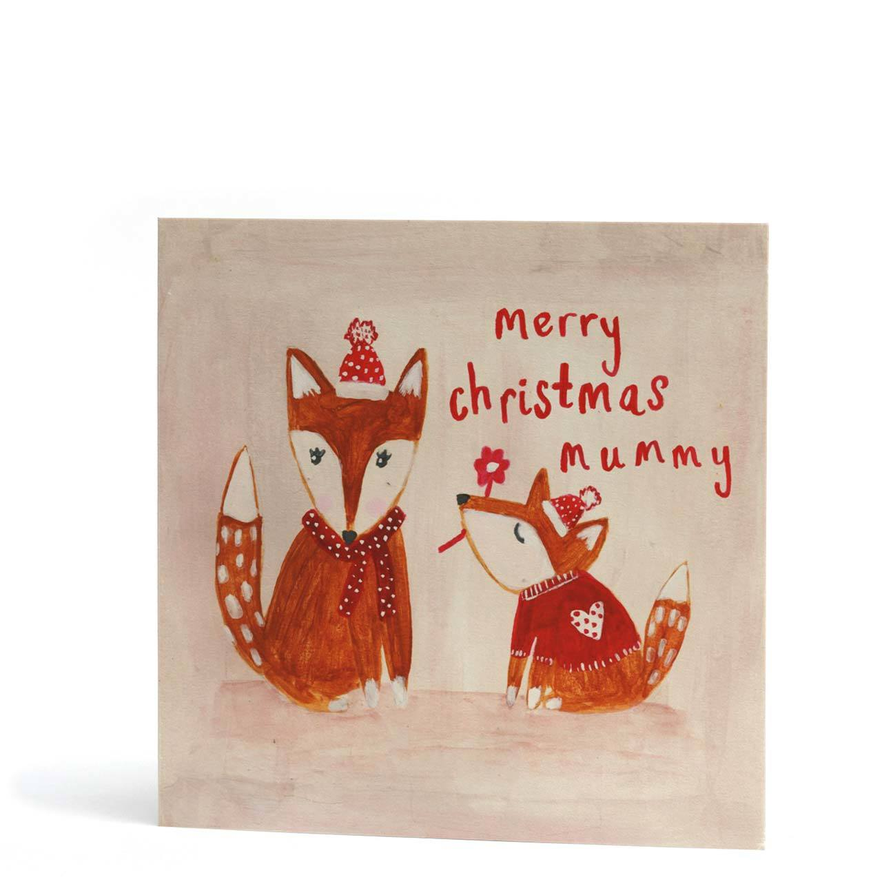 Merry Christmas Mummy Greeting Card