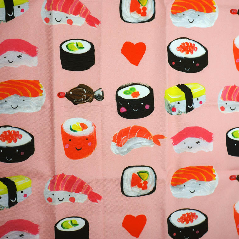 Sushi 100% Cotton Tea Towel