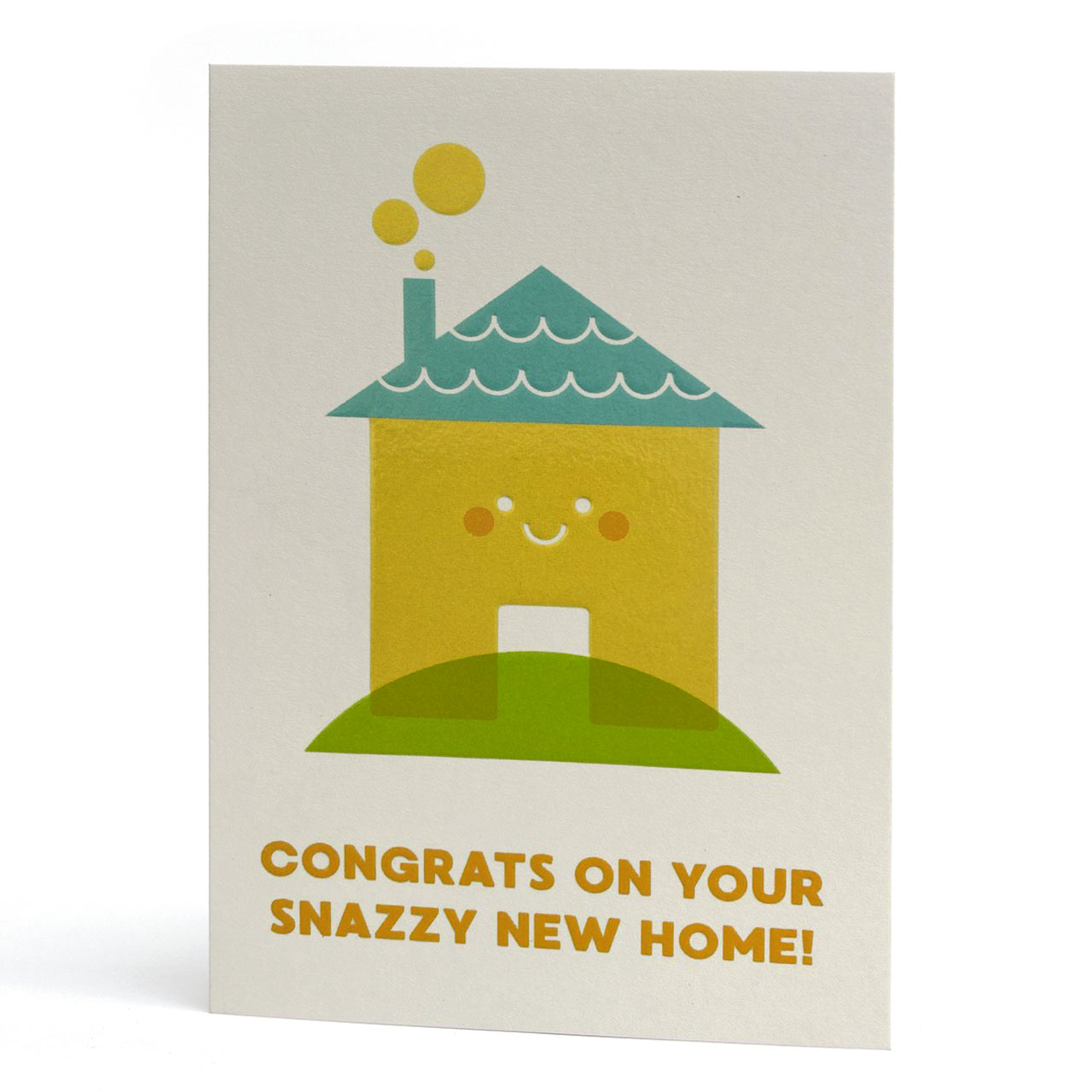 Snazzy New House Greeting Card
