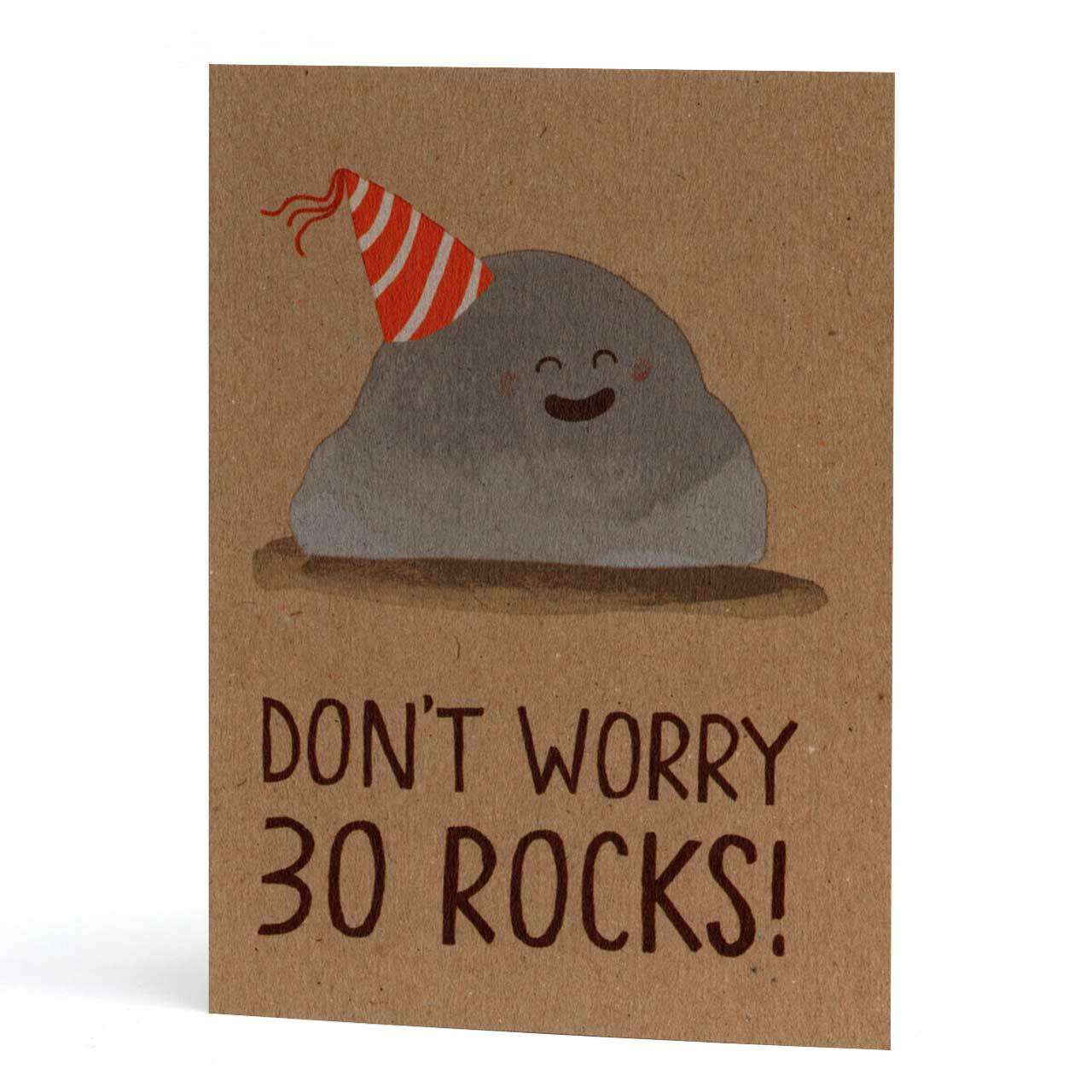 30 Rocks Birthday Greeting Card