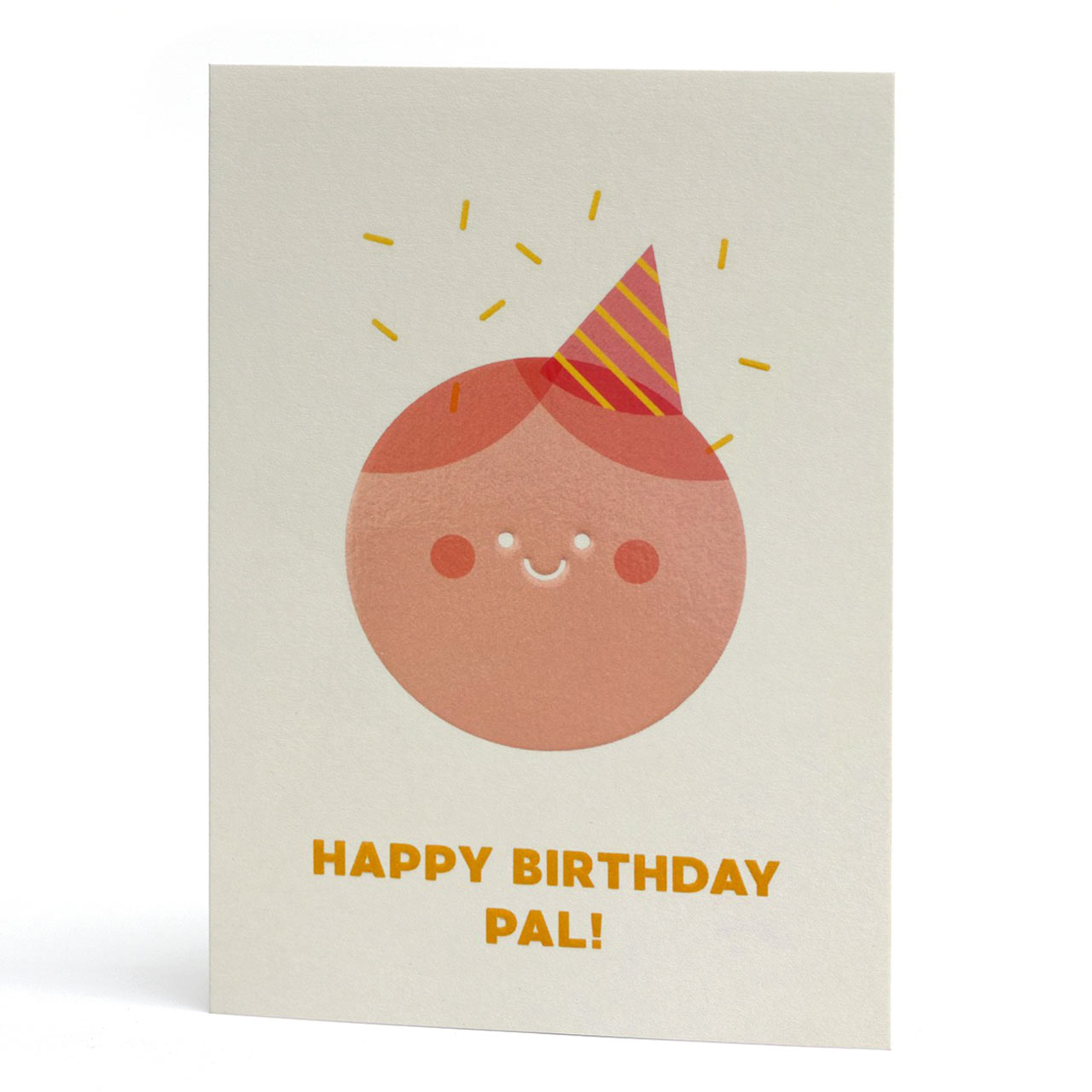 Happy Birthday Pal Greeting Card