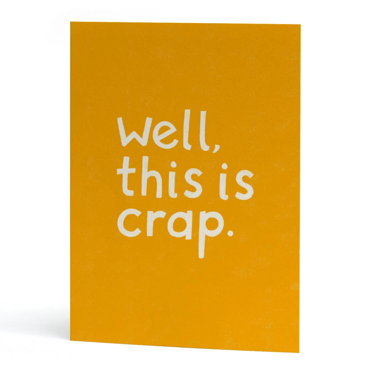 This is Crap Greeting Card