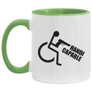 Handi-CAPable - 11OZ Accent Mug
