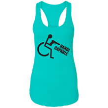 Load image into Gallery viewer, Handi-CAPable - Ladies Racerback Tank