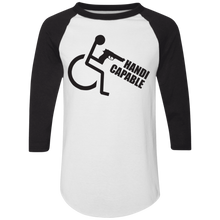 Load image into Gallery viewer, Handi-CAPable - Raglan Jersey