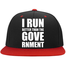 Load image into Gallery viewer, I RUN BETTER - Snapback Hat
