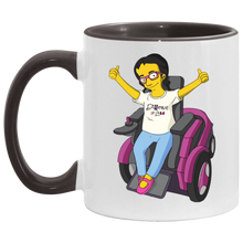 Load image into Gallery viewer, YELLOW LIFE! - 11OZ Accent Mug